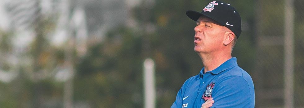 Mano Menezes quer time administrando vantagem | Rodrigo Gazzanel/Futura Press