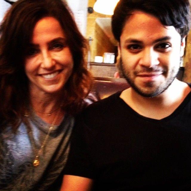Pedro e a atriz Monique Curi | Divulgação/Instagram