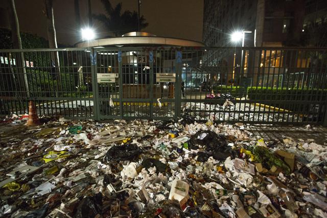 Frente do prédio da editora Abril | Rodrigo Paiva/Folhapress