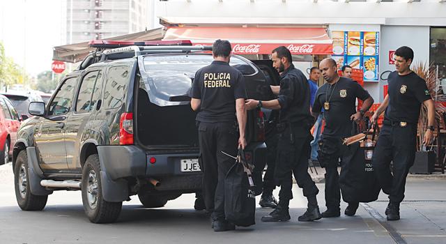 Operação contou com 350 policiais federais | Divulgação/DPF