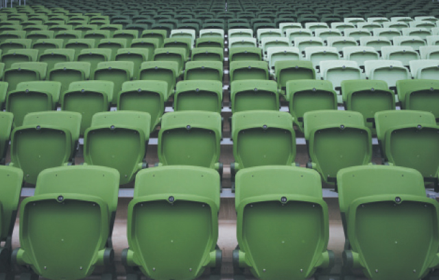 As cadeiras agora têm três tons de verde | Lalo de Almeida/Folhapress