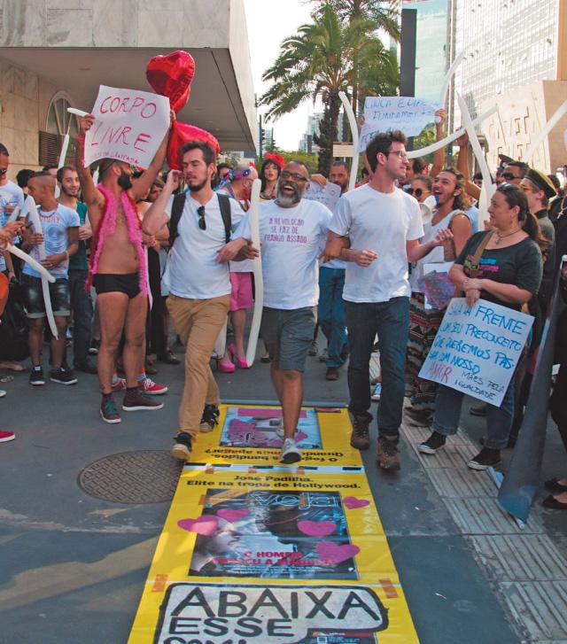 Ato contra a homofobia aconteceu ontem | Kevin David/Brazil Photo Press/Folhapress