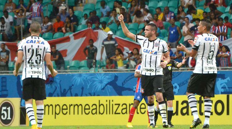 Vitória sobre o Bahia deixou Timão mais perto da Libertadores | Ag. Corinthians
