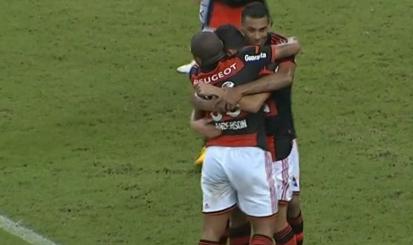 Flamengo goleou o Vitória por 4 a 0 | Divulgação/ site flamengo