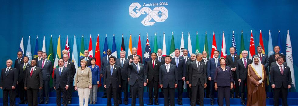 20 vê a possibilidade de crescimento de 2,1% na economia mundial até 2018 | Pablo Martinez Monsivais/Pool