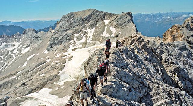 Uma montanha serve de fronteira entre Alemanha e Áustria | Valerio Vicenzo