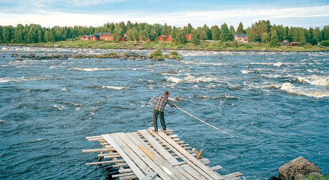 Fronteira da Suécia com a Finlândia é na água | Valerio Vicenzo