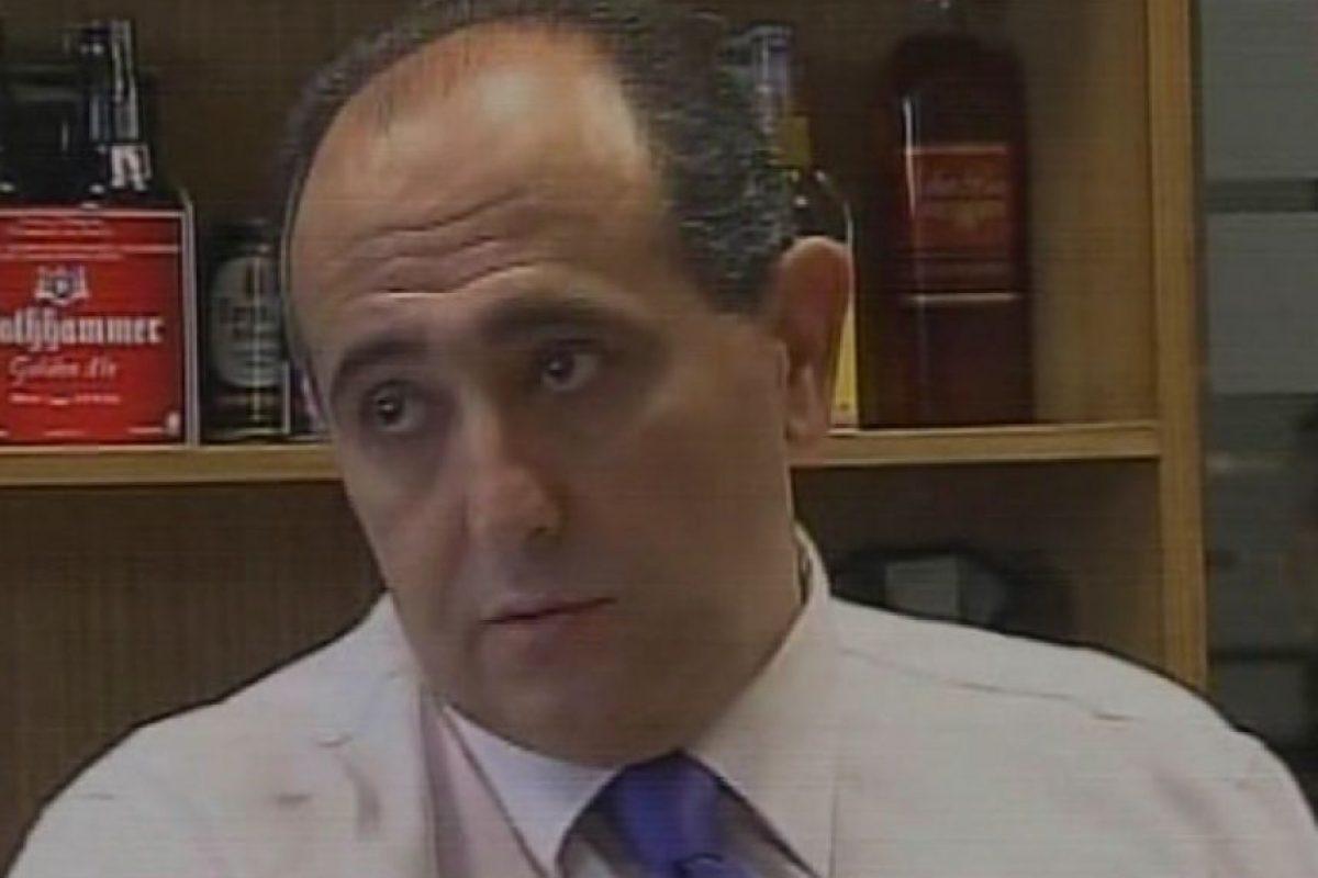 Juan Pedro Torrejón, gerente comercial del local, y quien es sindicado como la persona que prometió $7 millones a Riquelme para retractarse de su acusación. Foto:Captura de TVN. Imagen Por: