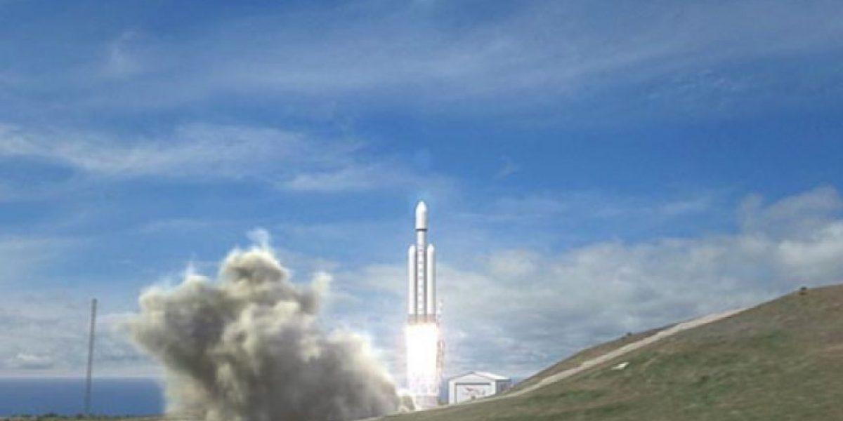 Presentan potente cohete espacial que puede llegar hasta Marte