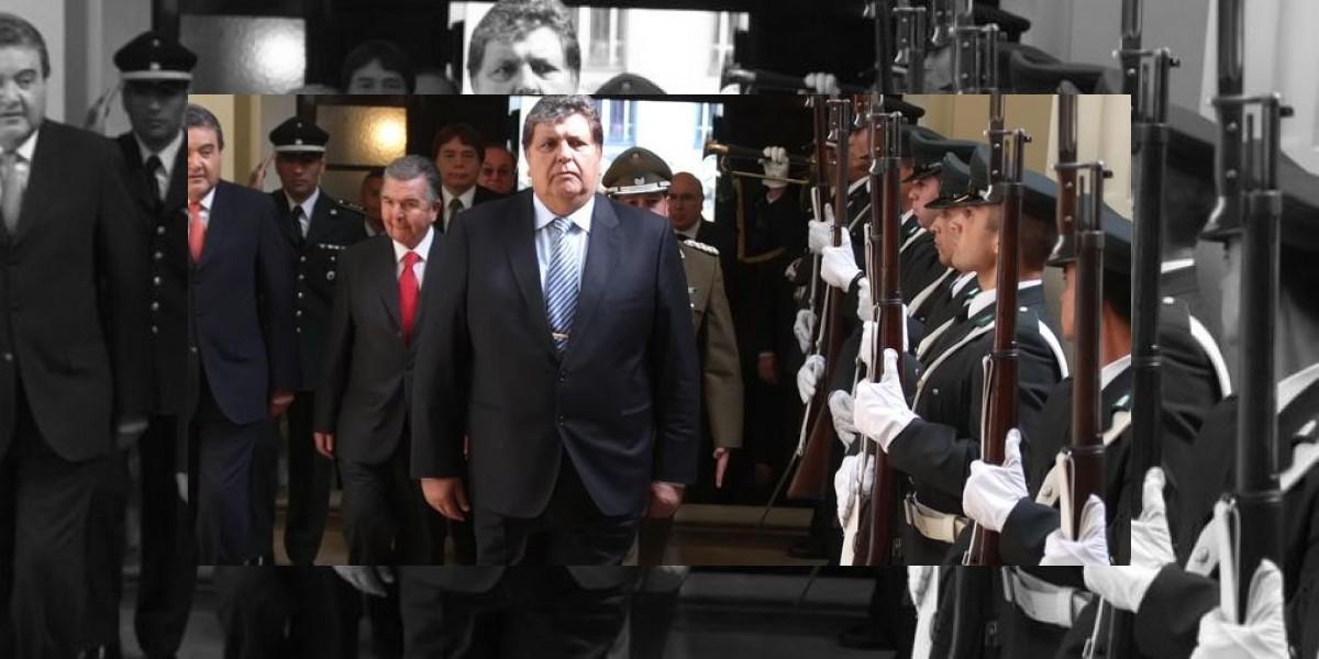 Alan García fue a votar y rescató tranquilidad con que se lleva a cabo el proceso