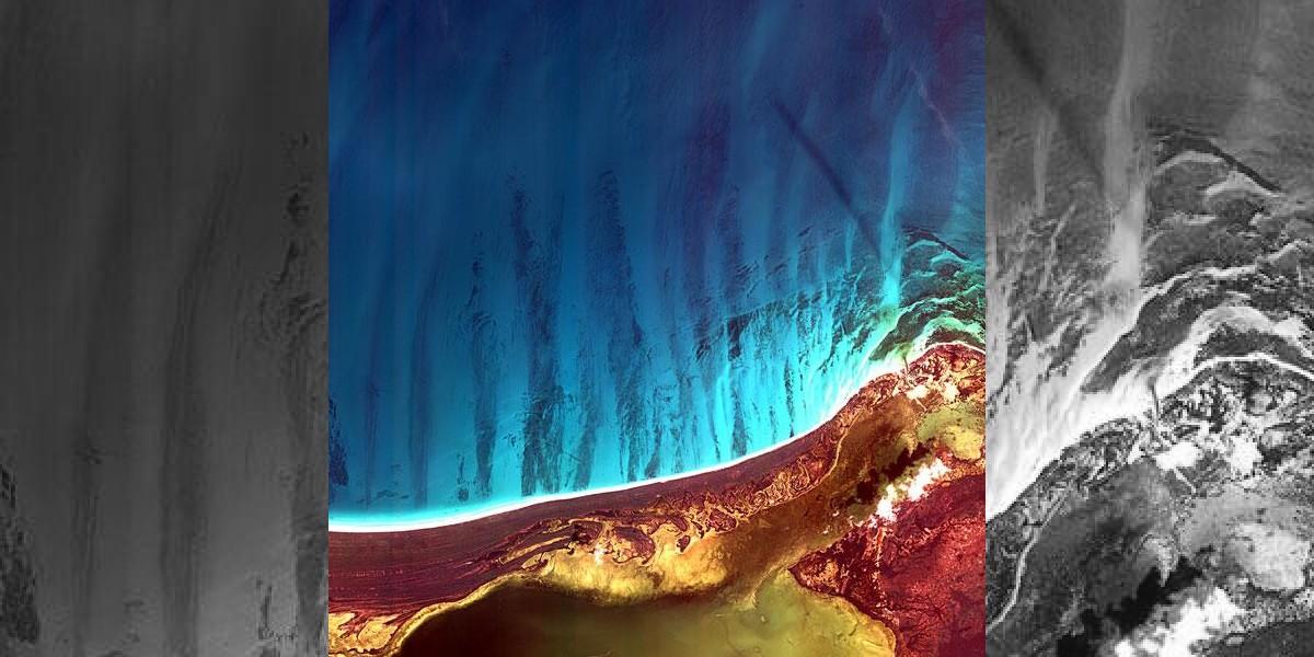 Satélite coreano toma espectacular foto desde el espacio