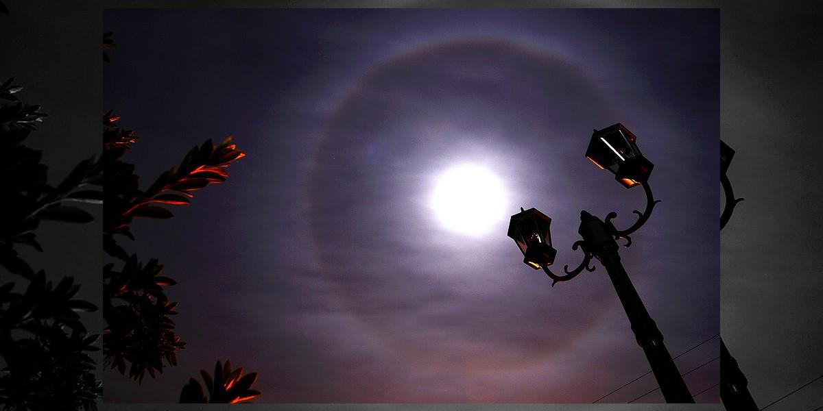 [FOTOS] El fenómeno en el cielo que se apreció en el sur