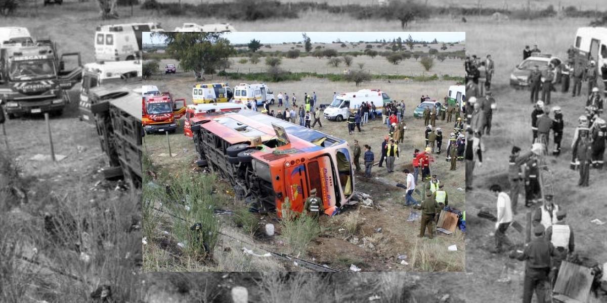 Chofer del accidente en Chillán manejó 35 días seguidos