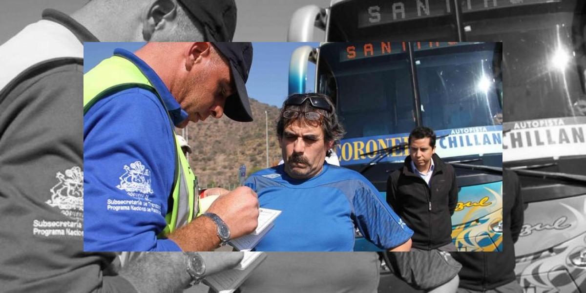 122 buses son multados por no contar con cinturón de seguridad obligatorio