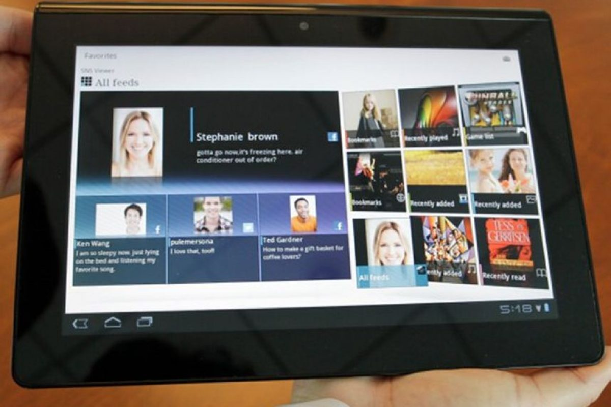 El Sony S1. Foto:AP. Imagen Por: