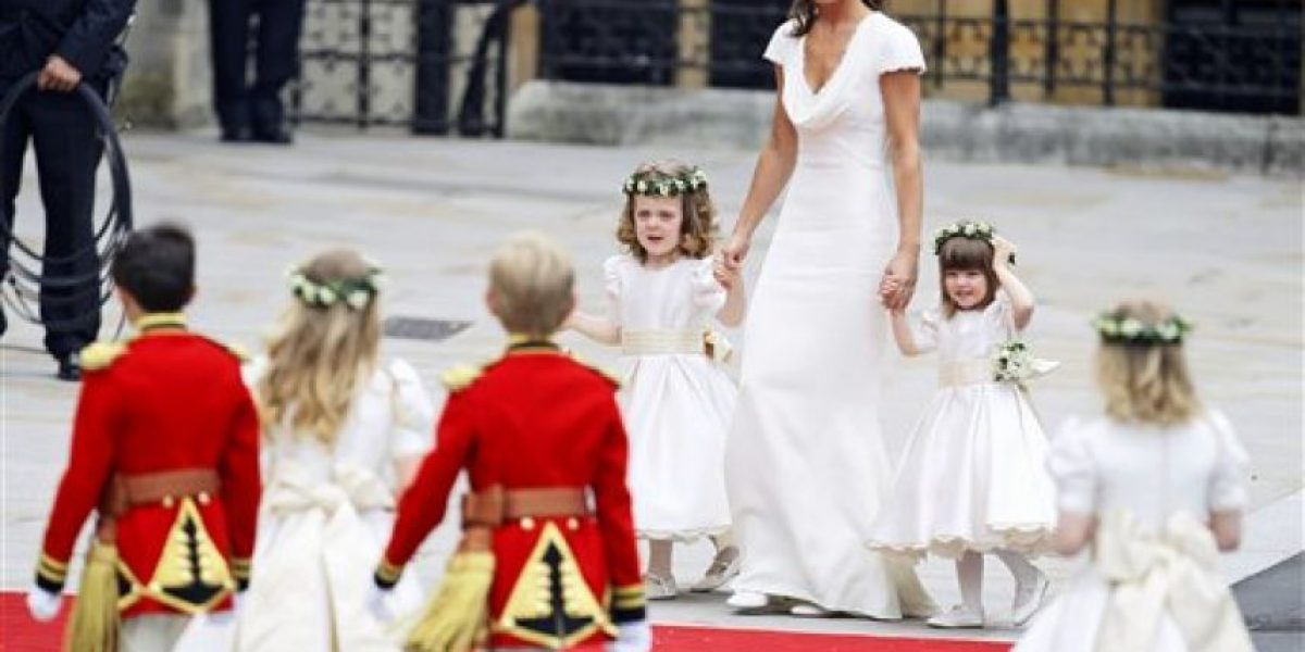 Tonka y el vestido de la hermana de Kate Middleton:
