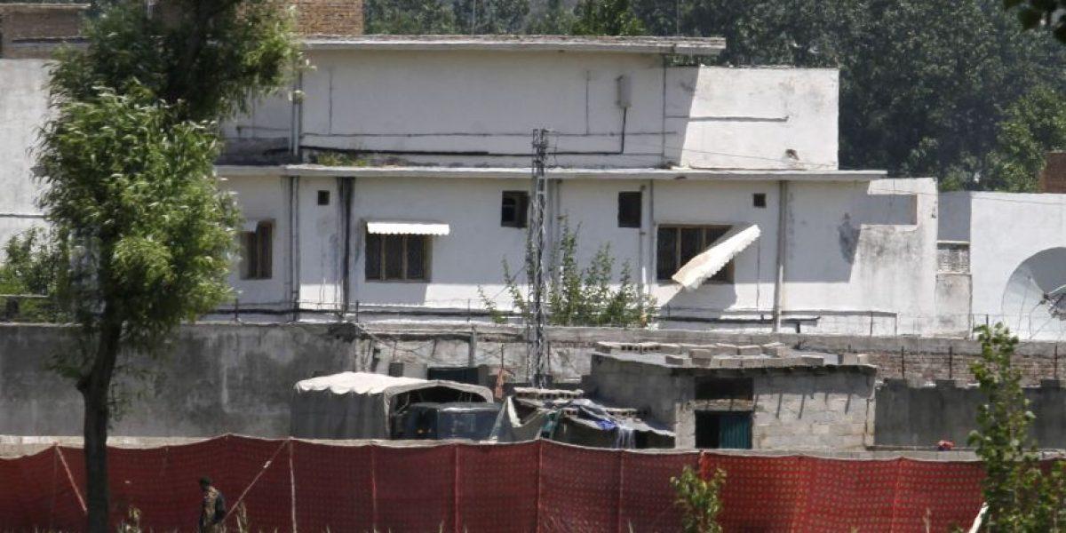 Esta era la mansión de Bin Laden