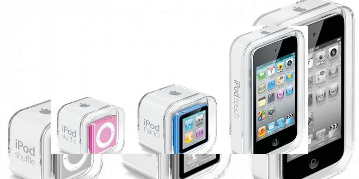 Los tres ganadores de iPods  en el Día de la Madre