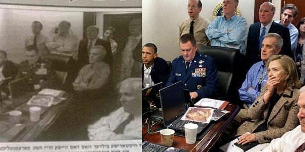 Diario ultraortodoxo borra a Hillary Clinton en famoso foto de Obama
