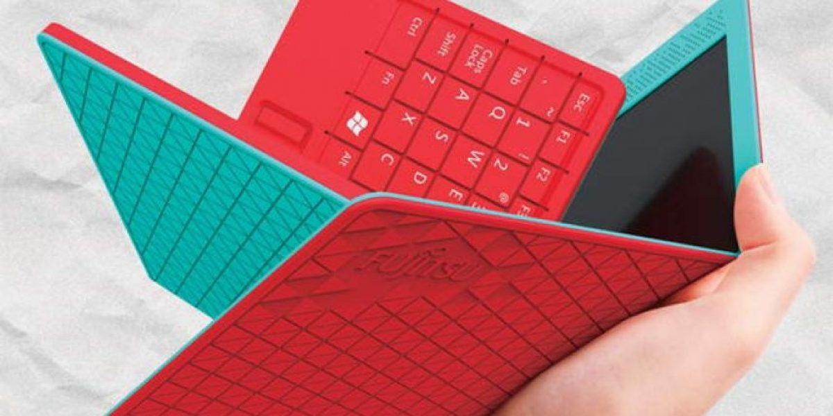 Crean notebook que se dobla en cuatro