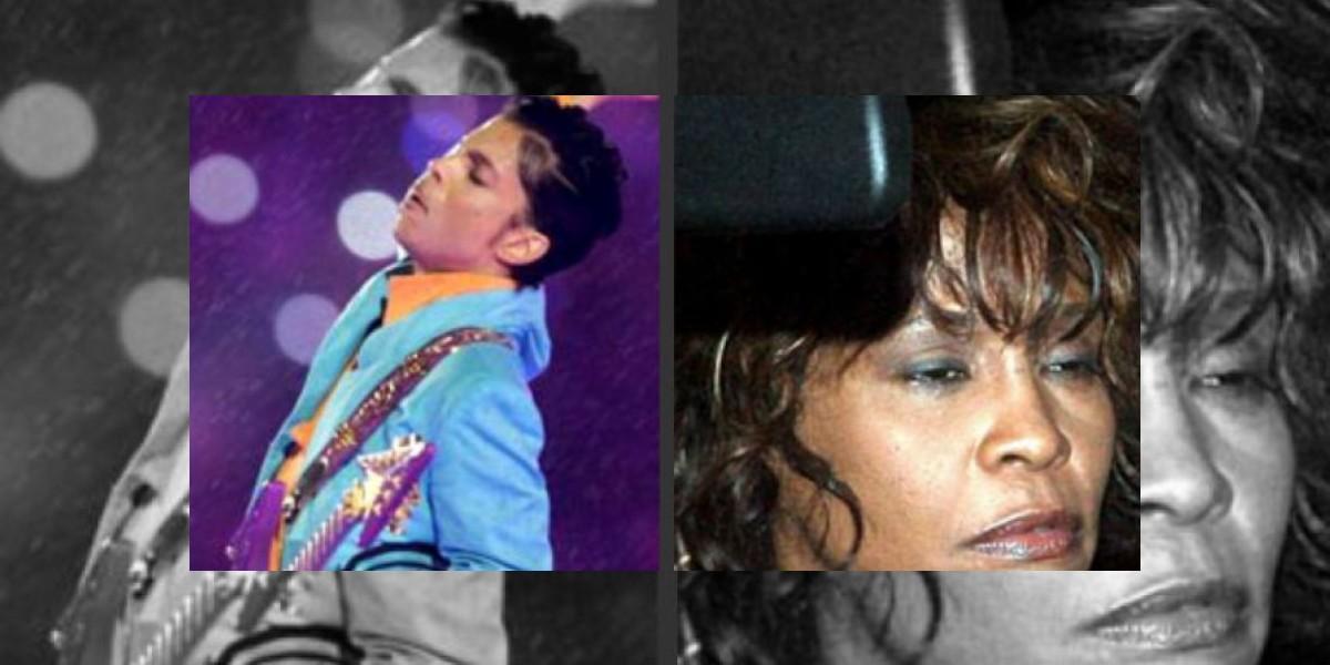 Prince no quiere a Whitney Houston en sus conciertos por