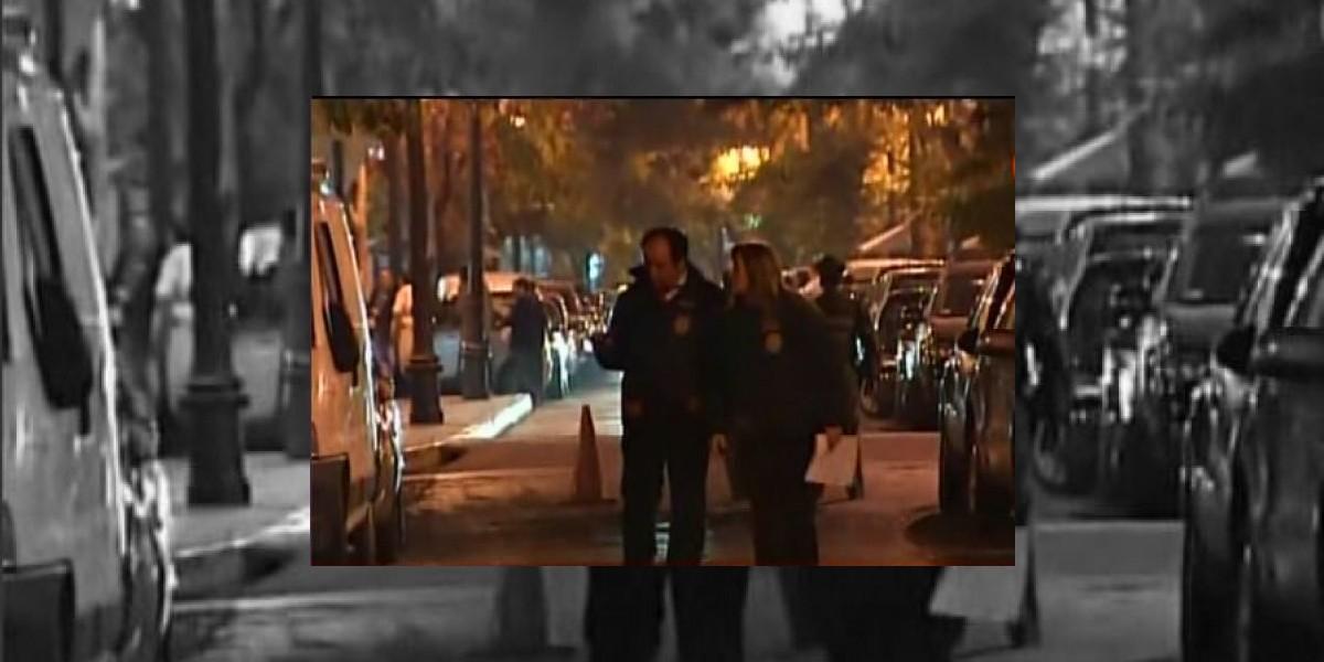 Taxista se enfrenta a tiros con Carabineros en pleno barrio Bellavista