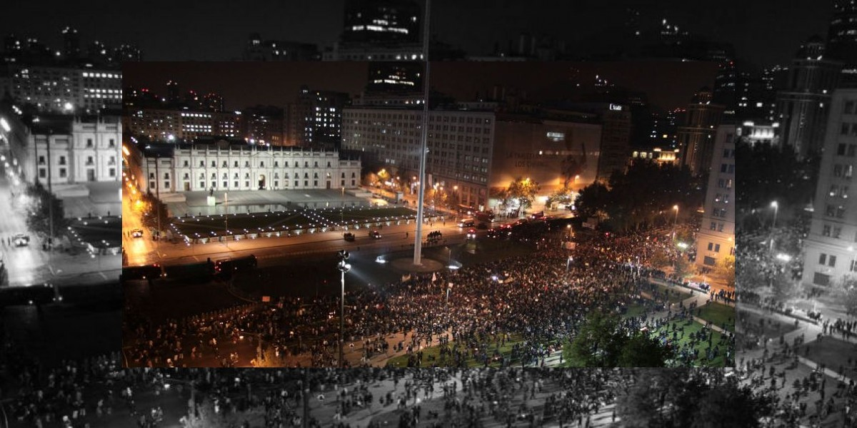 Miles de manifestantes protestan frente a La Moneda contra HidroAysén