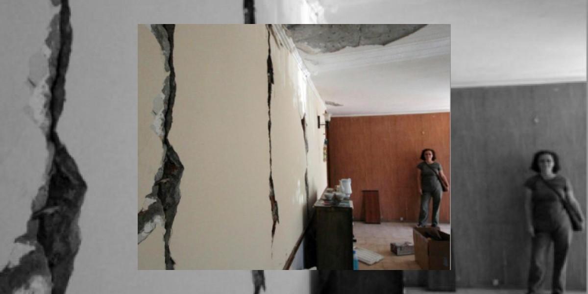 """Villa Olímpica y secuelas del terremoto:  """"Vivimos un drama"""""""