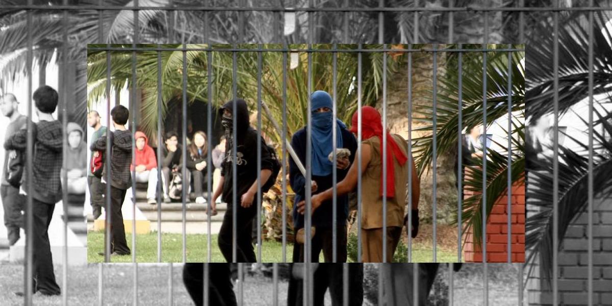 Diez carabineros heridos tras primer operativo sin gases lacrimógenos en ex Pedagógico