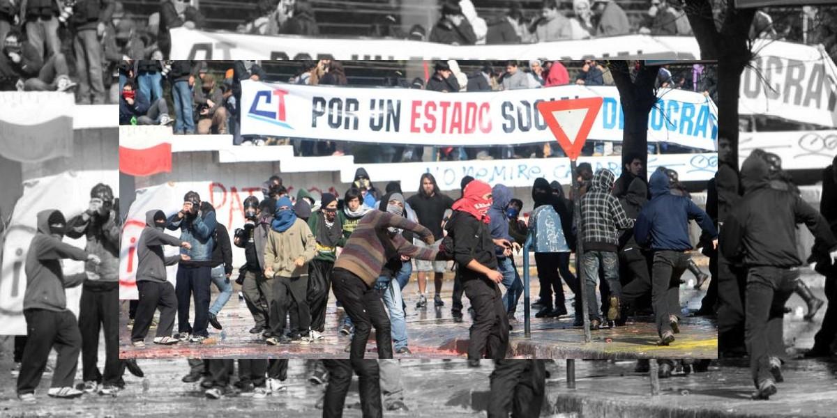 Un saldo de 100 personas detenidas dejaron las marchas del 21 de mayo