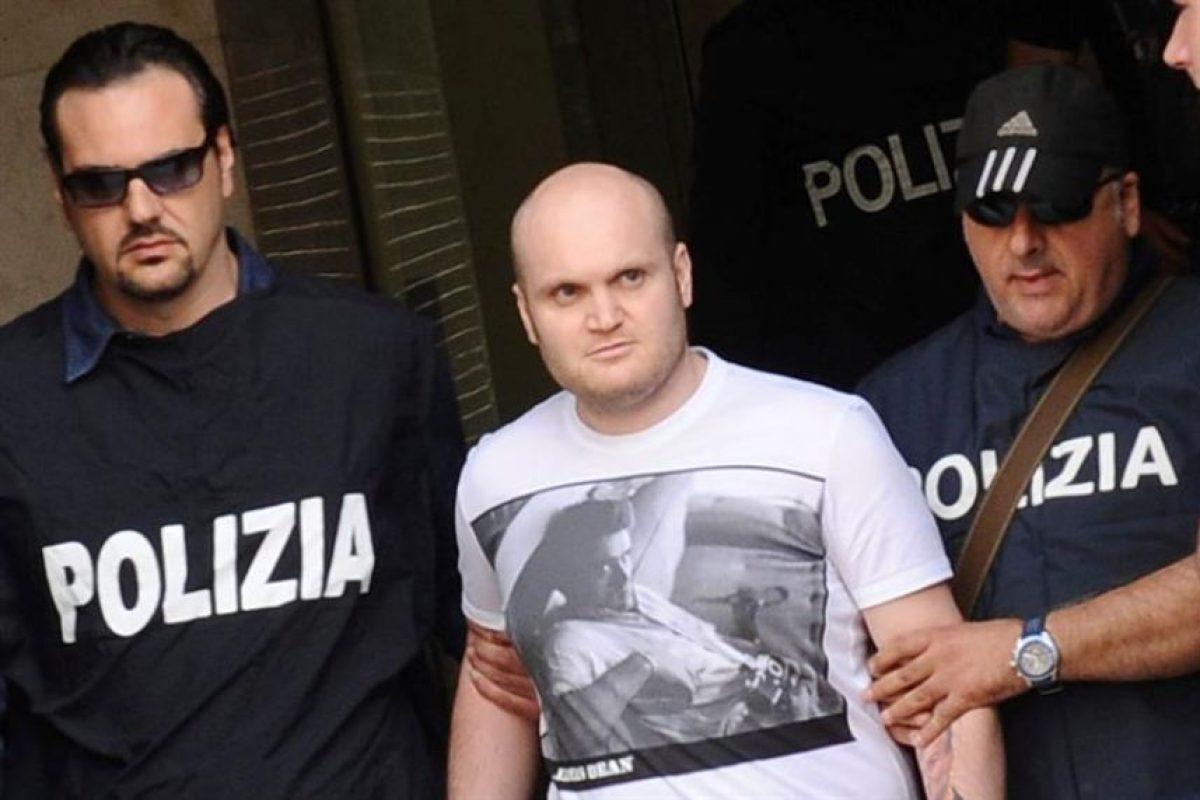 Carmine Amato (30), guardaespaldas de D'Agnese también fue detenido. Foto:EFE. Imagen Por: