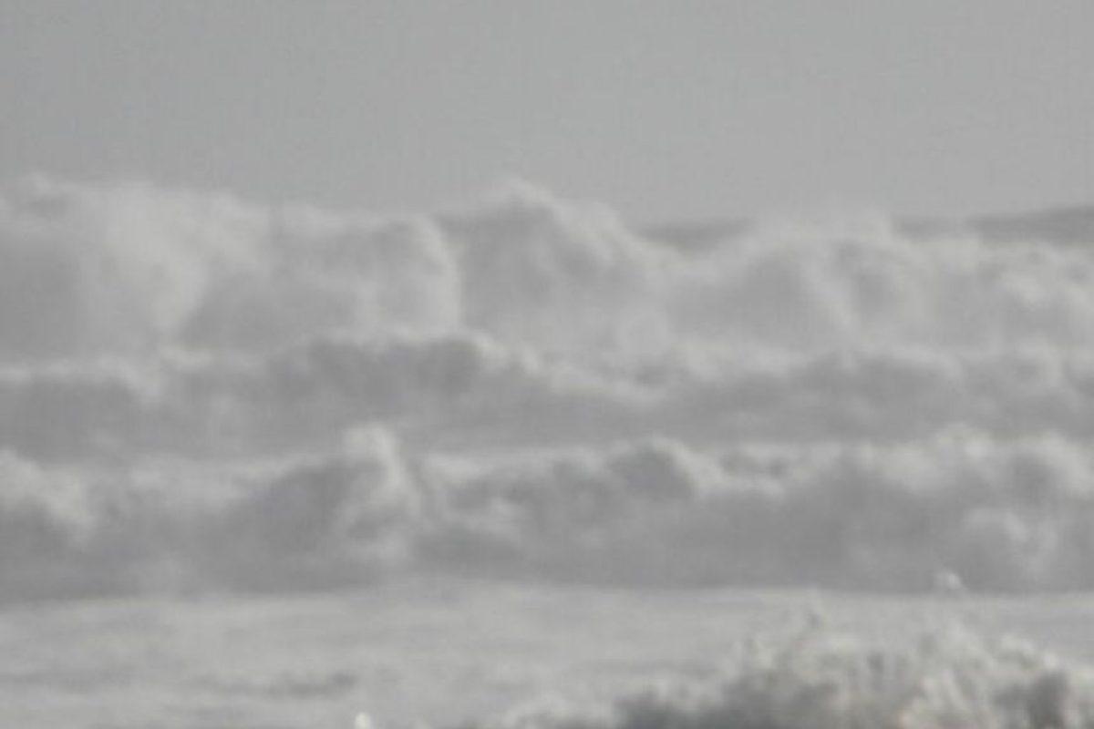Fuertes marejadas afectaron a Iloca causando inundaciones en el sector. Foto:@ylaotramitad. Imagen Por: