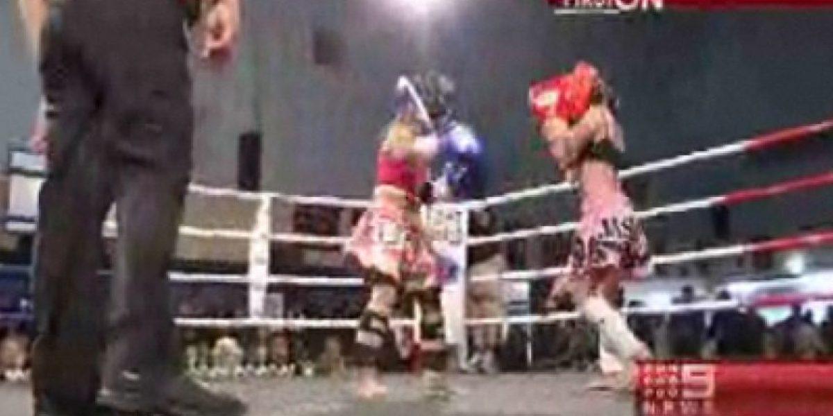 Polémica: 500 espectadores tuvo pelea de Kick Boxing entre niñas de 7 y 8 años