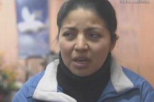 Así luce hoy la joven Daniela. Actualmente asiste a una iglesia evangélica. Foto:Captura de TVN. Imagen Por: