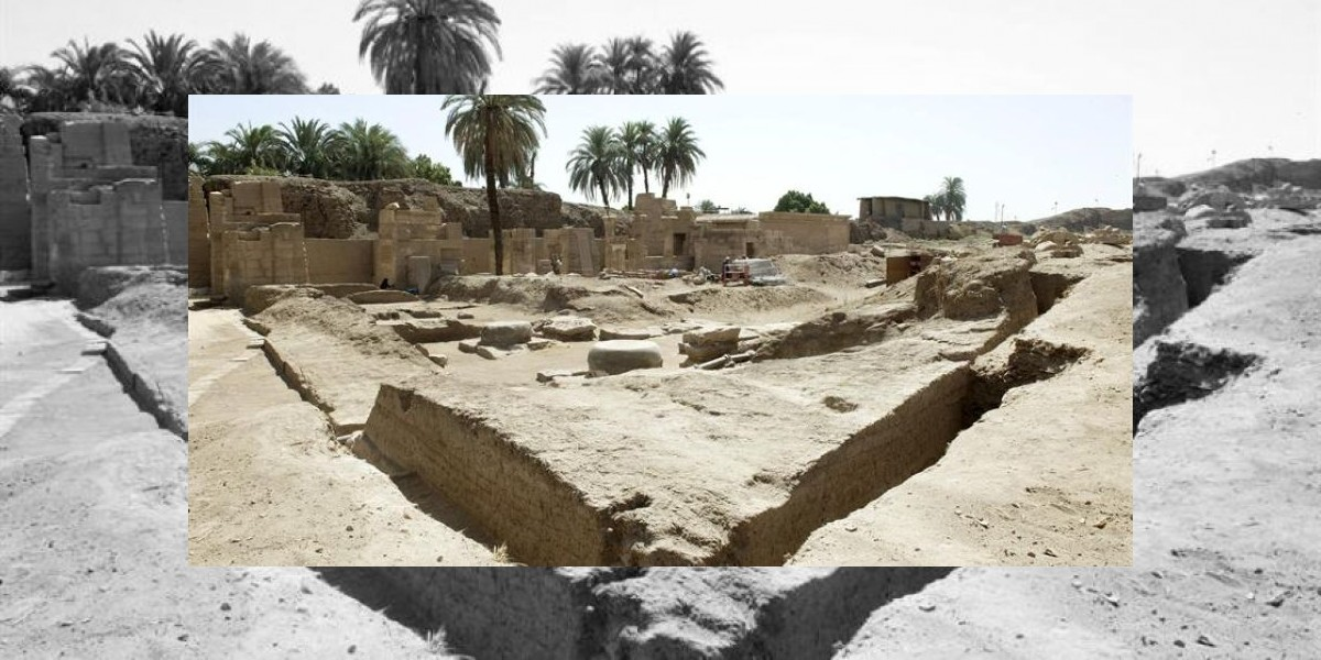 Arqueólogos realizan importante hallazgo en templo de Karnak