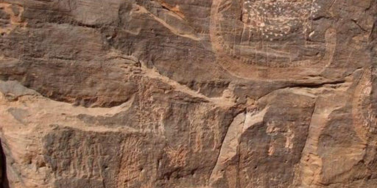 [FOTOS] Descubren el dibujo más antiguo de un rey egipcio