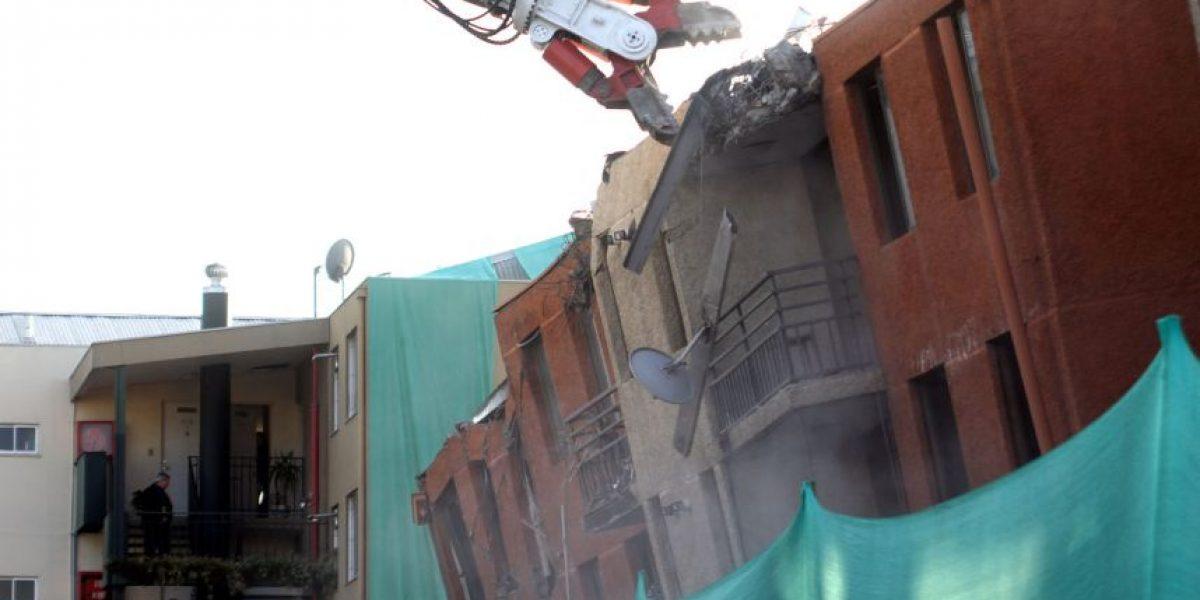 [FOTOS] Demuelen edificio