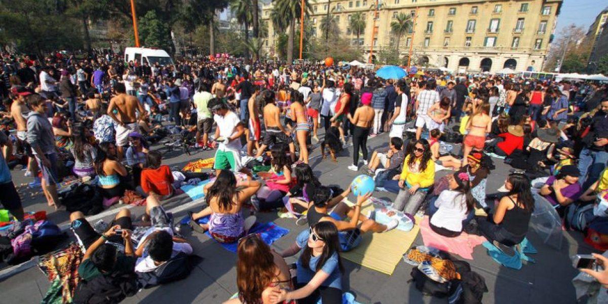 La nueva forma de protestar: Estudiantes