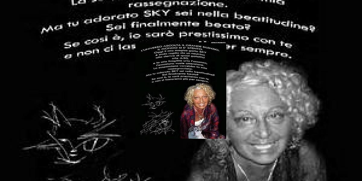 Italiana publica en diario un poema a página completa por la muerte de su gato