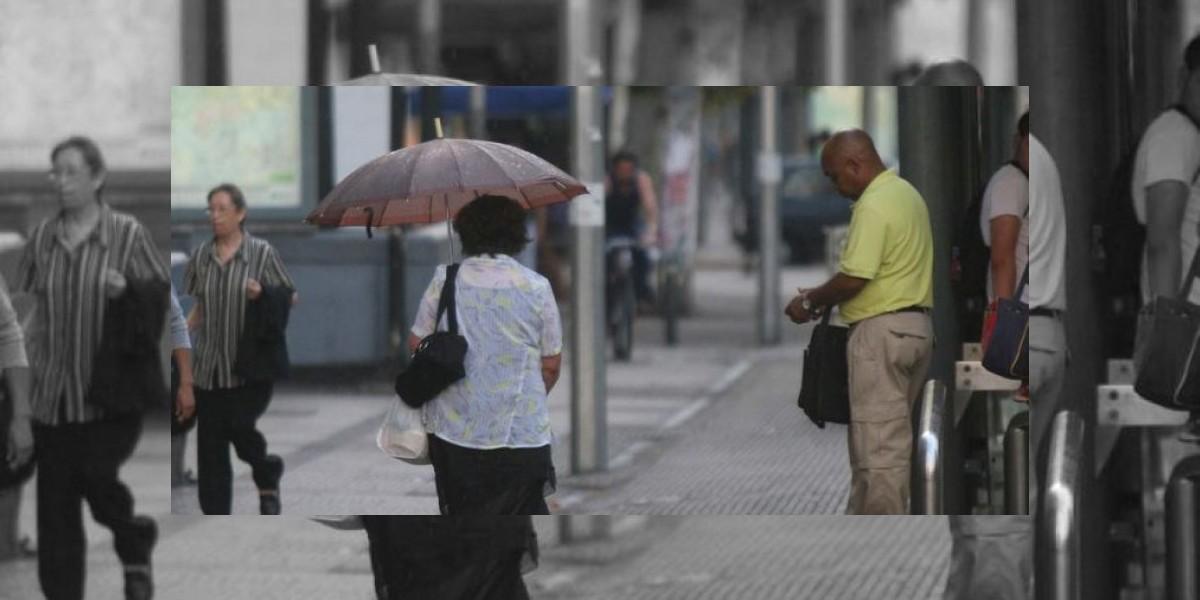 Lloviznas marcarán la tarde en la Región Metropolitana