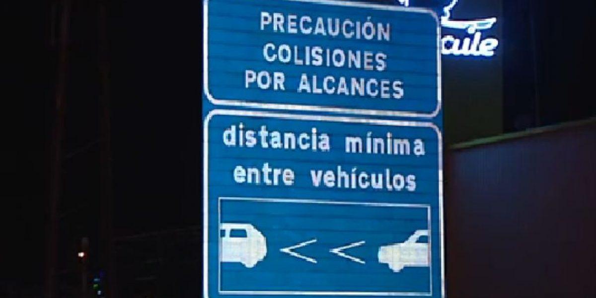 En España debuta una nueva señal de tránsito
