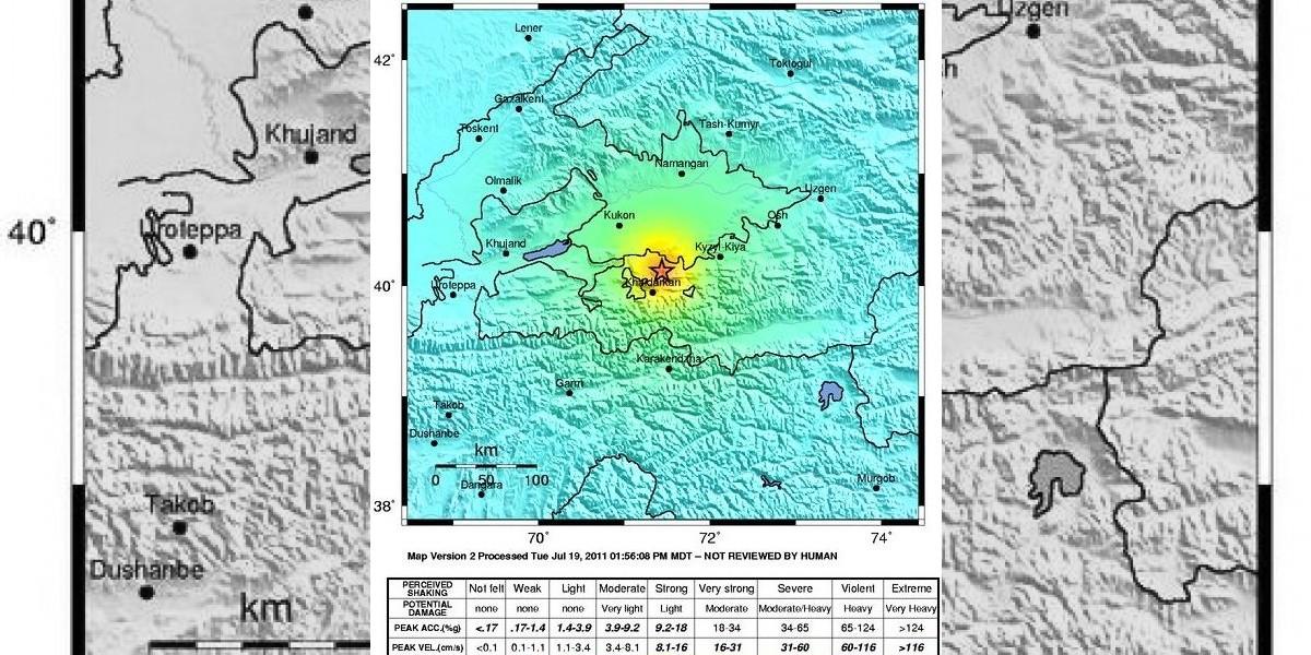 Terremoto en Uzbekistán deja 13 personas muertas