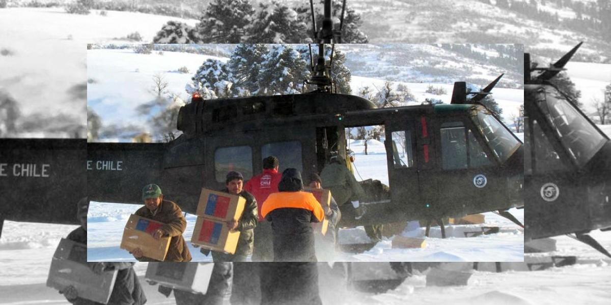 Terremoto blanco: al menos 20 mil personas se encuentran aisladas