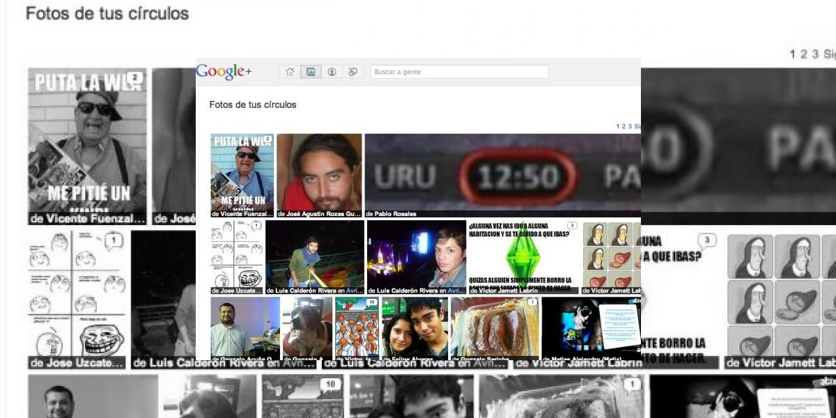 Google+ lanza aplicación para exportar fotos de Facebook