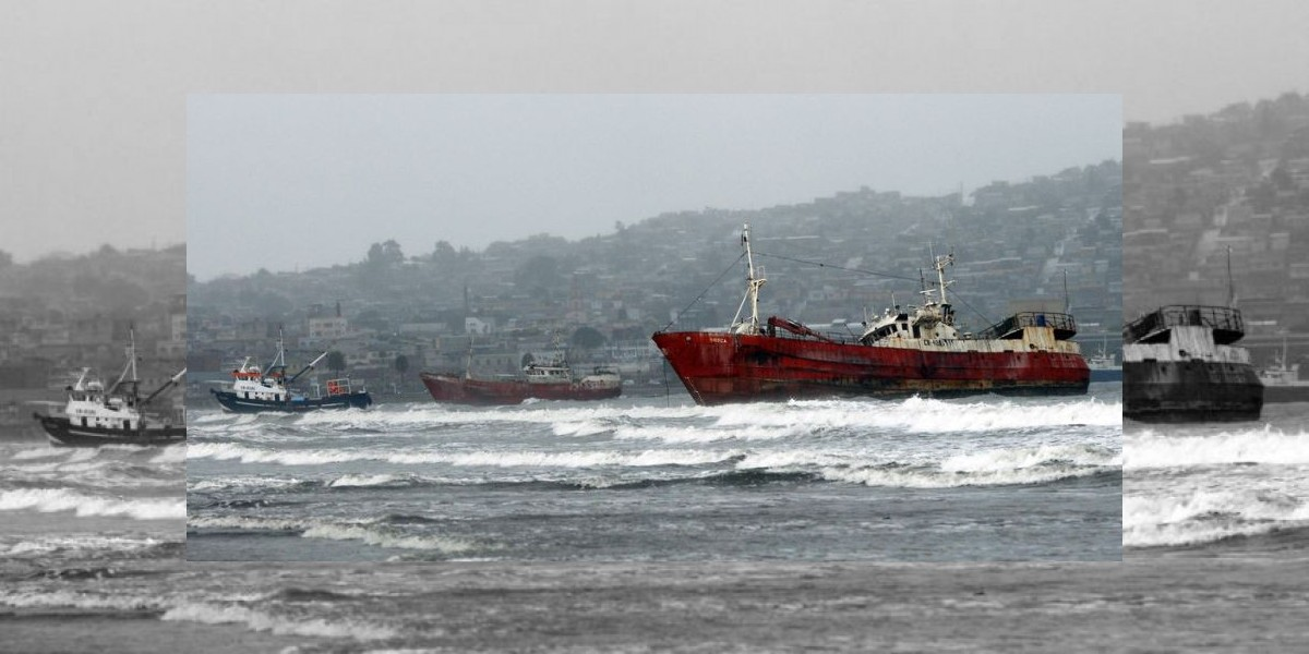 Alertan sobre vientos de hasta 90 km/h en zona norte del país
