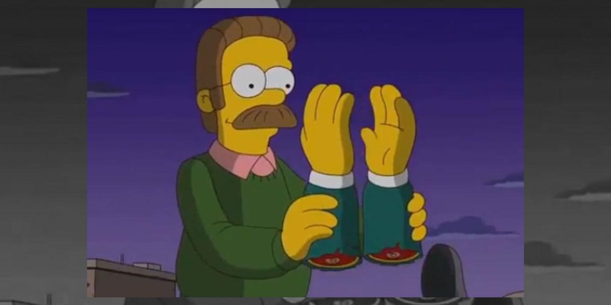 [VIDEO]Flanders encarnará a Dexter en Los Simpson