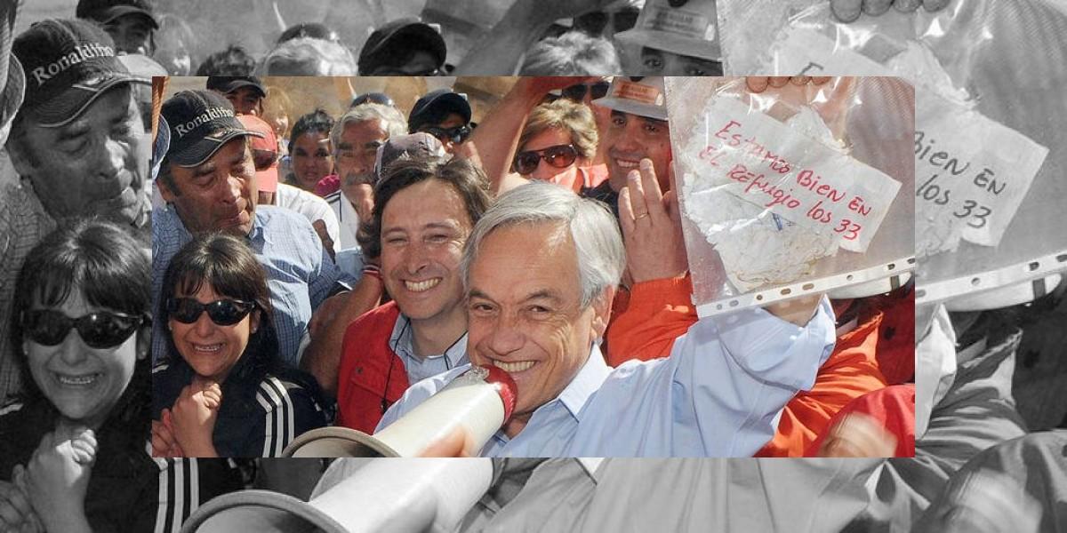 Piñera devolverá el famoso papelito a un año del accidente de los 33