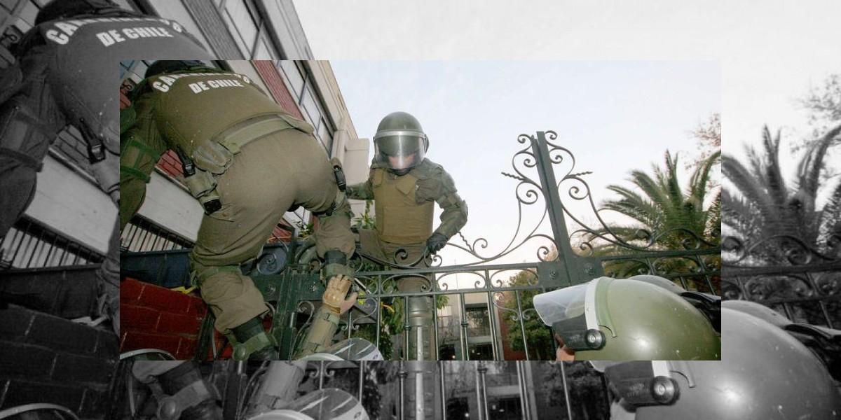 Detenidos por barricadas en Providencia se identifican como estudiantes