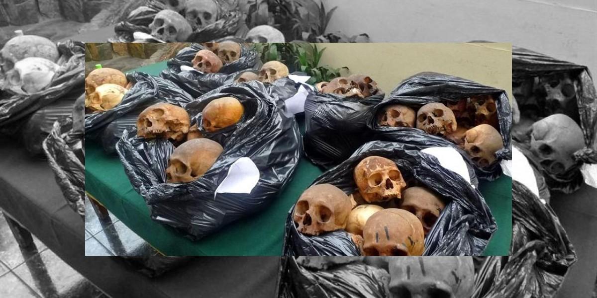 Detienen a chamán con 180 cráneos humanos en Perú
