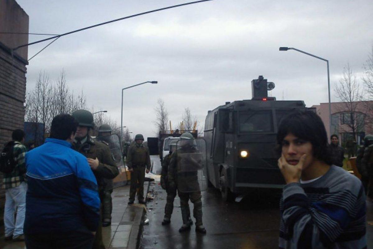 En estos momentos desalojo de utal #retomautal (via @fernandoshnikov) Foto:Twitpic @Fcotoloza. Imagen Por: